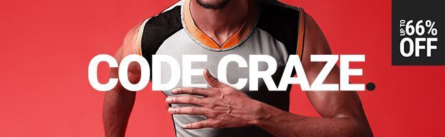 CODE CRAZE: UP TO 66% OFF