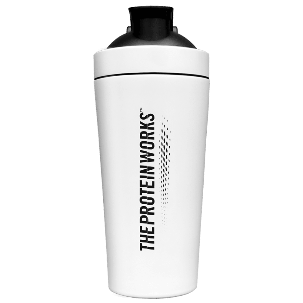 Limited Edition White Stainless Steel Shaker