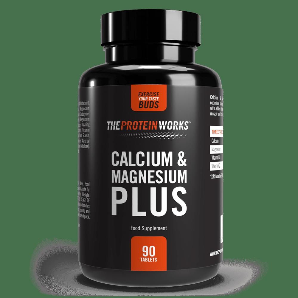 Calcium & Magnesium Plus, 90 tablets