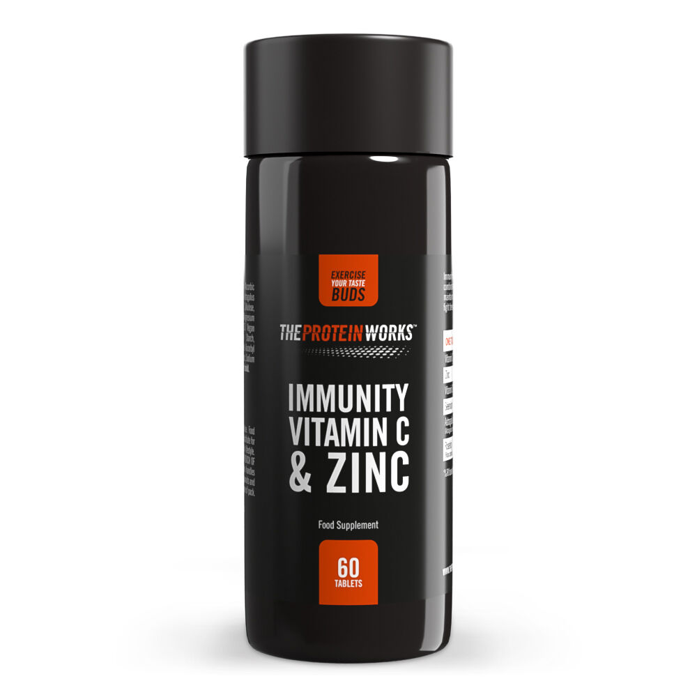 Immunity Vitamin C and Zinc - 60 Pills