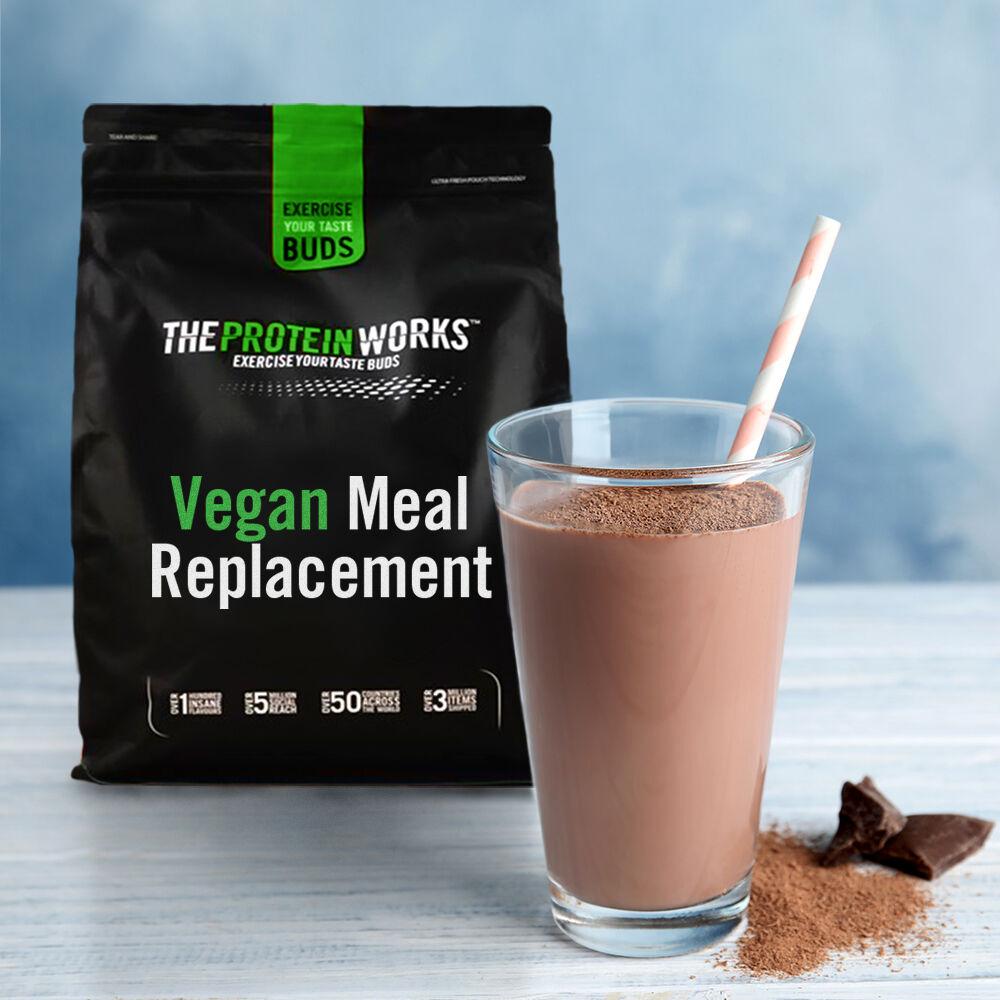 Vegan Meal Replacement, Chocolate, 500g