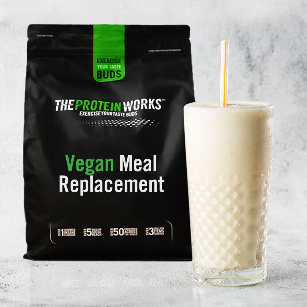 Vegan Meal Replacement, Vanilla, 1kg