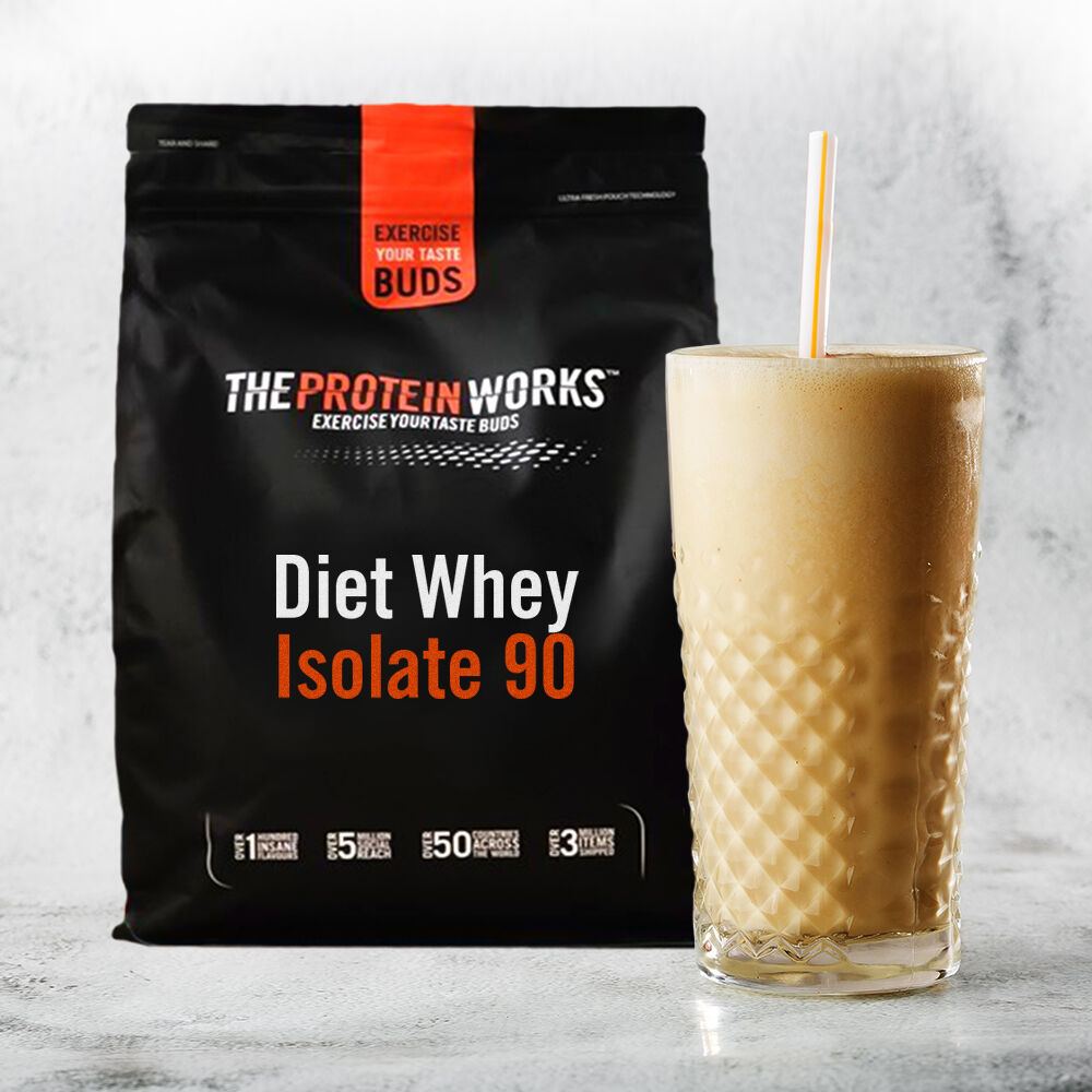 Diet Whey Protein Isolate 90 - Butterscotch Ripple (2kg)